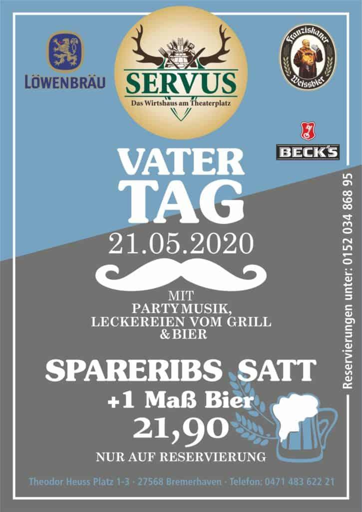 Vatertag Servus 2020